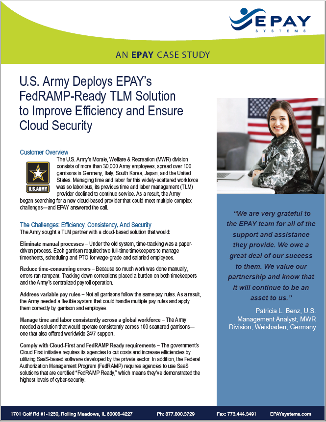 Army Case Study Cover