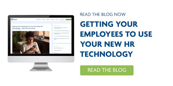 Blog - Getting you Employees to Use Your new HR Technology