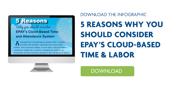 Infographic - 5 Reasons why you should consider EPAY T&L