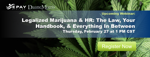 Legalized Marijuana & HR - Registration CTA
