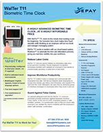 EPAY-Systems-WalTer-T11-Biometric-Time-Clock-Overview